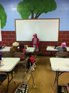 Selah's show and tell